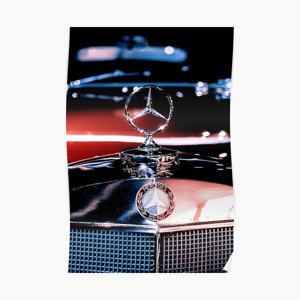 """Mercedes x Rolex """"Pepsi"""" Poster"""