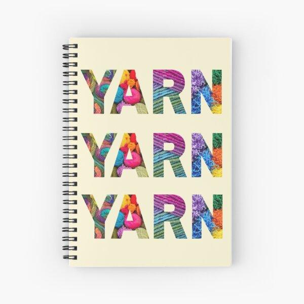Wonderful World Of Yarn II Spiral Notebook