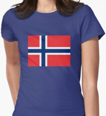 Norway Womens Fitted T-Shirt