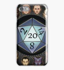 D&D D20 Races iPhone Case/Skin