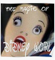 The Magic of Didney Worl Prints Poster