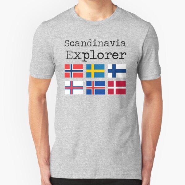 Scandinavia Explorer Slim Fit T-Shirt