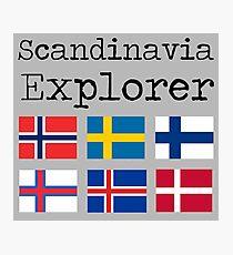 Scandinavia Explorer Photographic Print