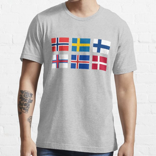 Scandinavian flags Essential T-Shirt