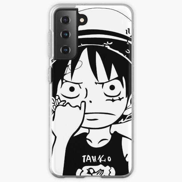 One Piece Luffy Picking Nose Samsung Galaxy Soft Case