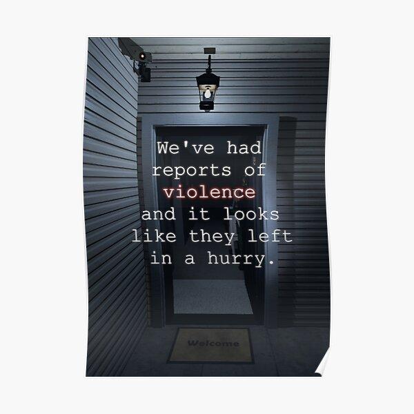 Phasmophobia: Haunted Housewarming Poster