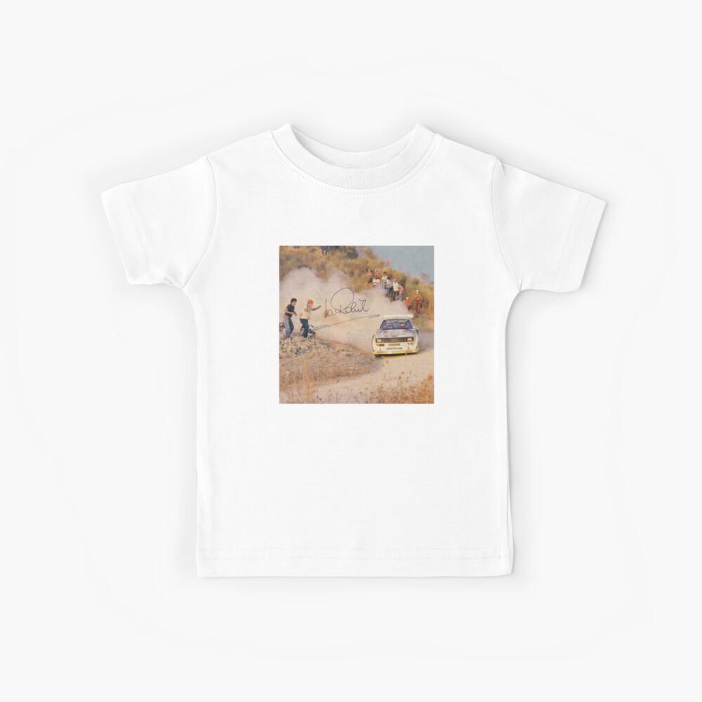 Audi Quattro Kinder T-Shirt
