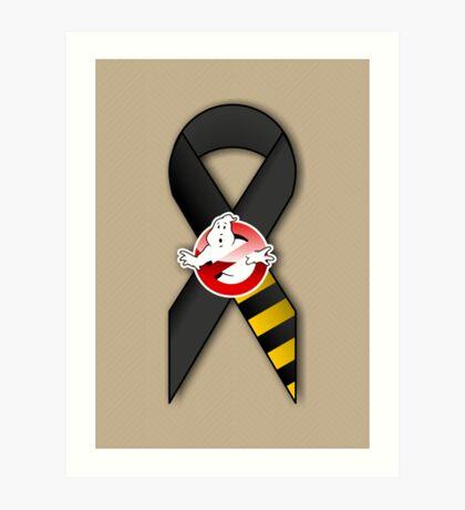 GB Tribute Ribbon Ver.2 (Face) Khaki Art Print