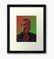 Gustavo Fring Ding ding Framed Print