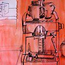 coffee machine by Evelyn Bach
