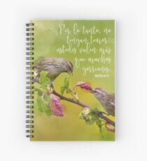 Mateo 10:31 Spiral Notebook