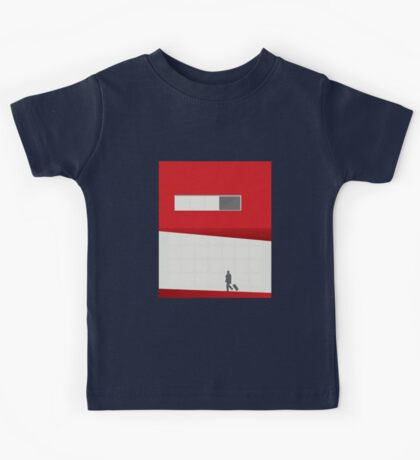 Funky Little Red Building Kids Clothes