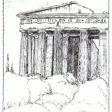 Temple of Hephaestos, Athens Greece by Rodart247