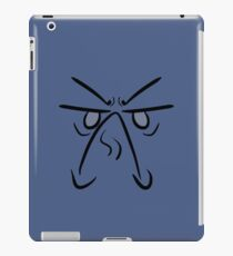 The Face of Disappointment iPad Case/Skin