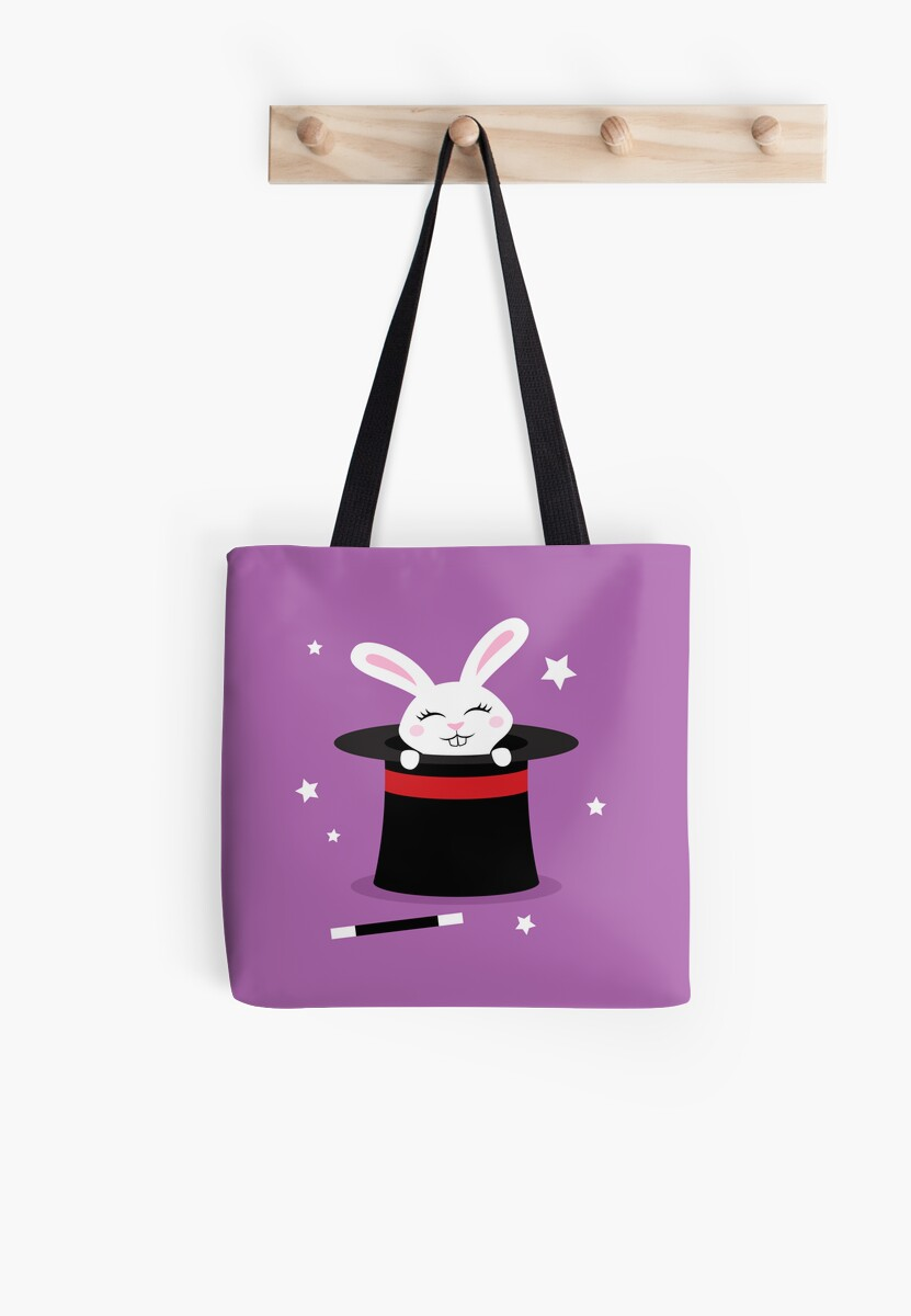 Rabbit in magicians hat by MheaDesign