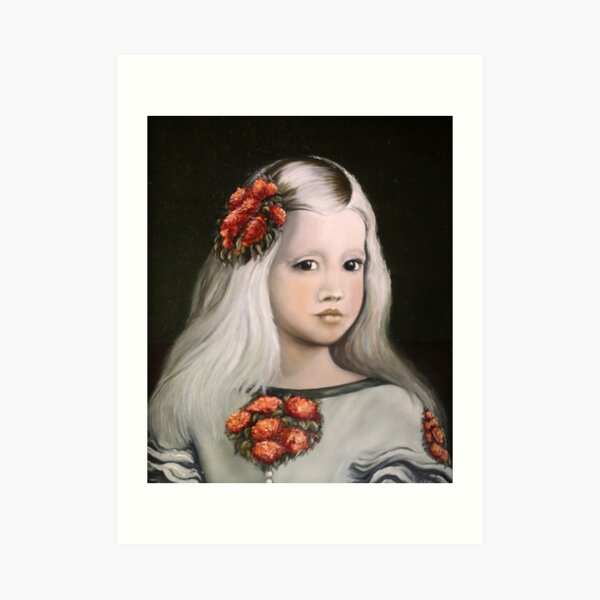 Homage to Velasquez, The Little Princess Art Print