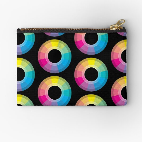 CMYK Wheel Zipper Pouch