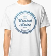 Crested Butte Ski Resort Colorado Classic T-Shirt