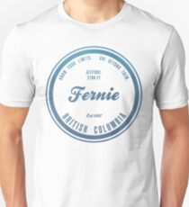 Fernie Ski Resort British Columbia T-Shirt