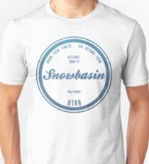 Snowbasin Ski Resort Utah Unisex T-Shirt