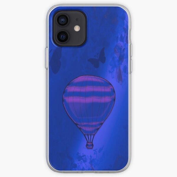 Legakulie Heißluftballon lila iPhone Flexible Hülle