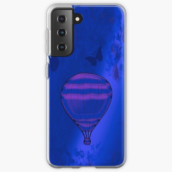 Legakulie Heißluftballon lila Samsung Galaxy Flexible Hülle