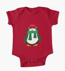 Snow Penguin  One Piece - Short Sleeve