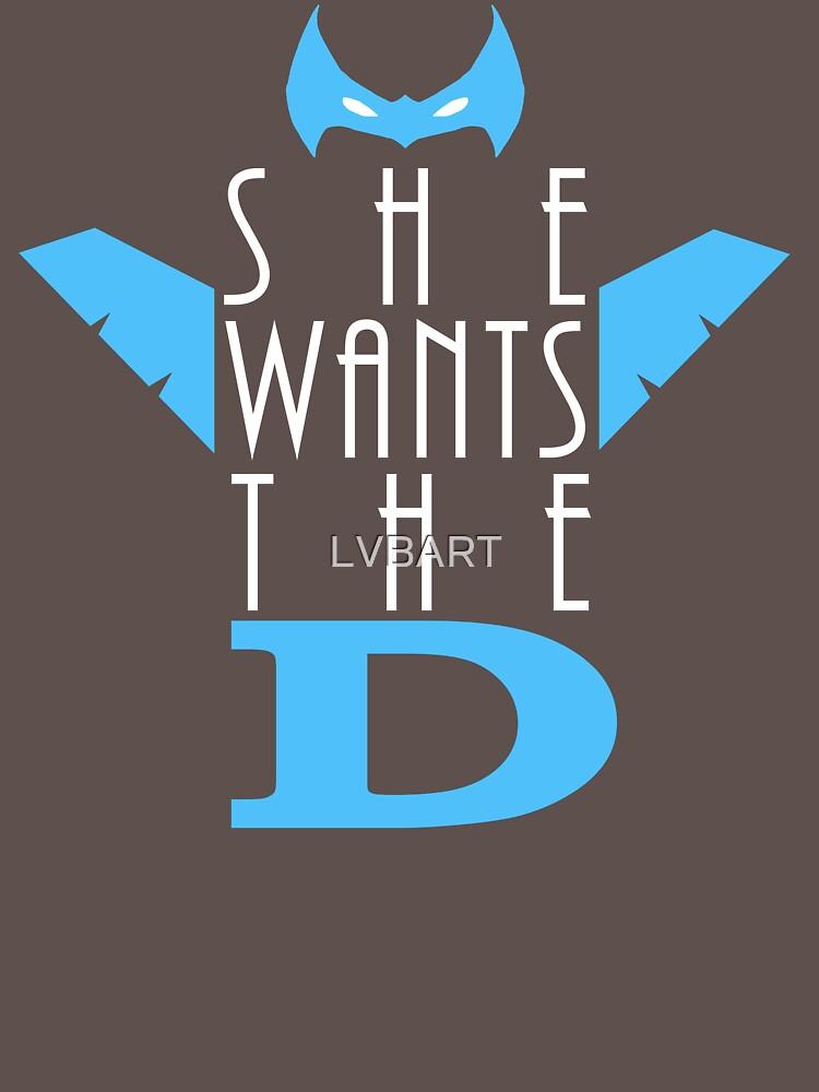 She Wants The D Grayson | Unisex T-Shirt