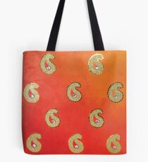 Butah, Paisley Design Tote Bag