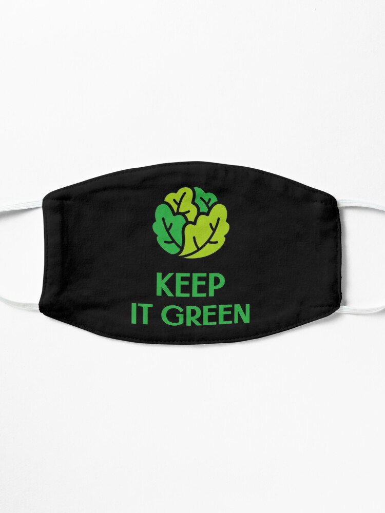 Alternate view of Keep It Green Mask