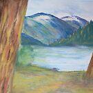 Between the Pines by Lynda Earley