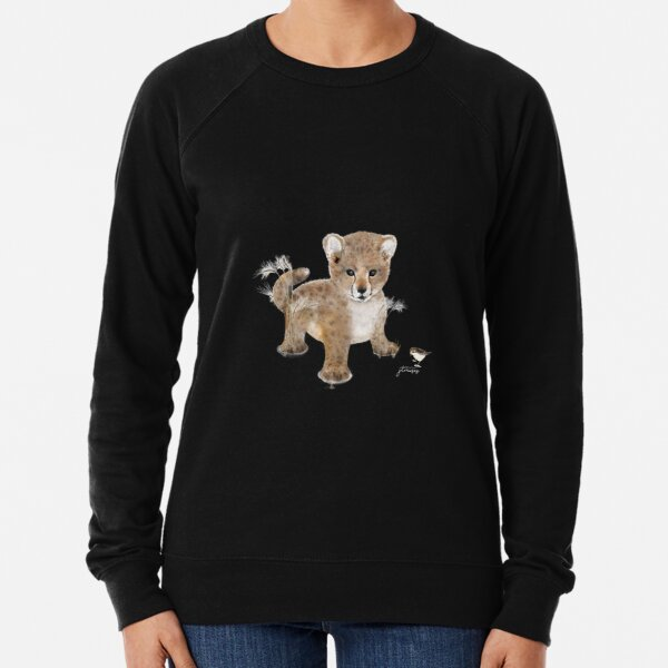 The Animal Project (leopard) by JTMUSES Lightweight Sweatshirt