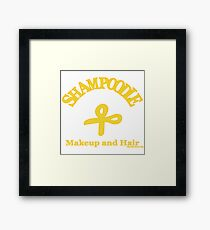 Shampoodle Scissors Framed Print