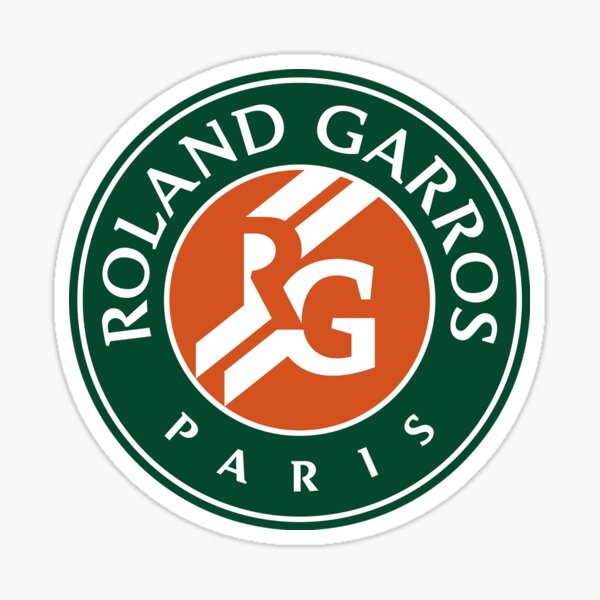 Fourgar Roland Paris Tennis Tournament Sticker