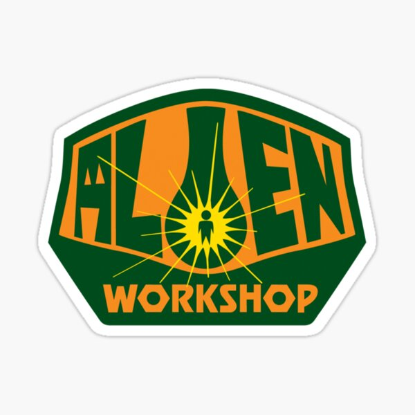 Alien Workshop (AWS) is an independent American skateboarding company that was founded in 1990 by Chris Carter Sticker