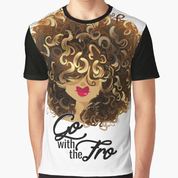 Go with the Fro Graphic T-Shirt