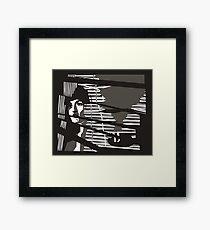 Classic Noir Framed Print