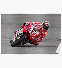 Andrea Dovizioso at Circuit Of The Americas 2014 Poster