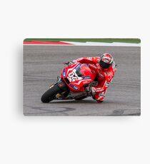 Andrea Dovizioso at Circuit Of The Americas 2014 Canvas Print