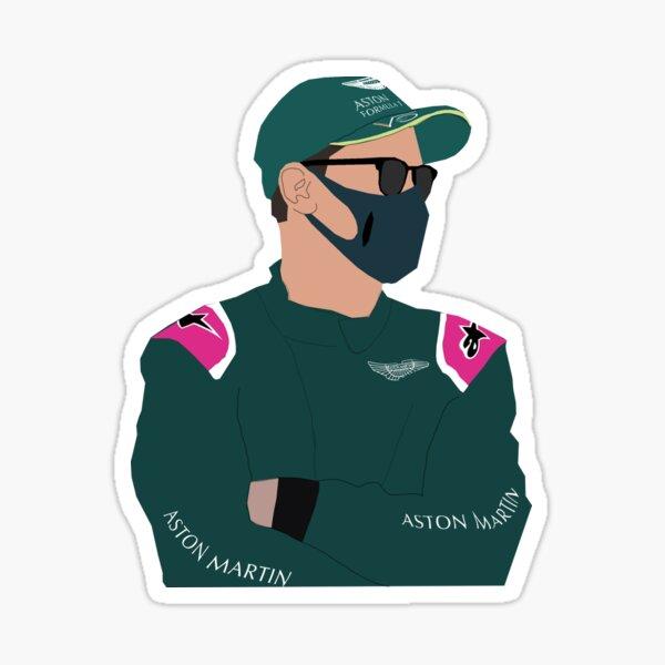 Sebastian Vettel F1 Sticker