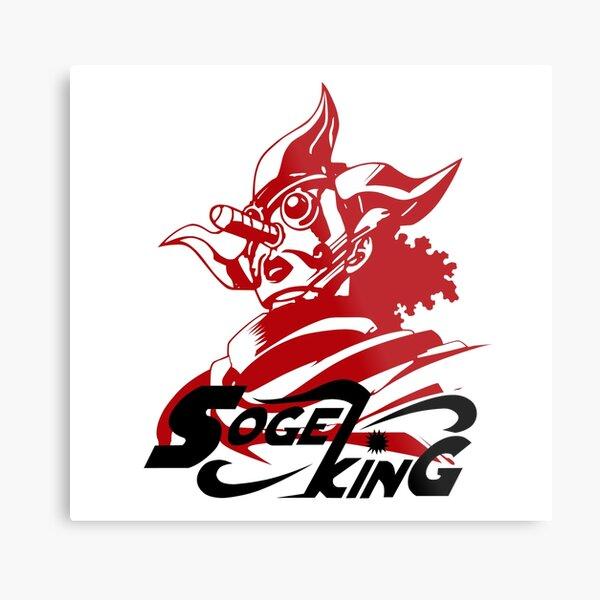 Sogeking The Sniper King Metal Print