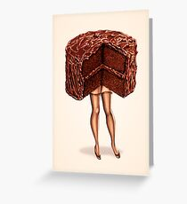 Hot Cakes - Devil's Food Greeting Card