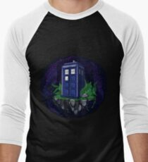 Tardis Men's Baseball ¾ T-Shirt