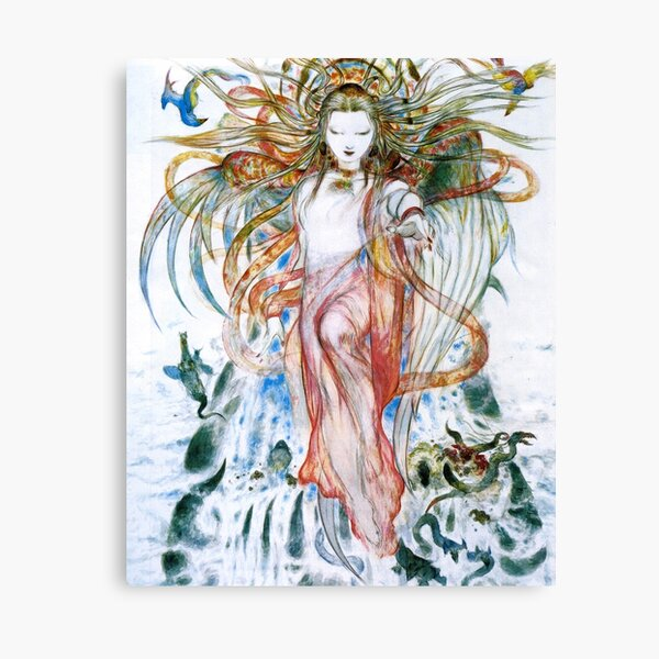 wings of the goddess Canvas Print