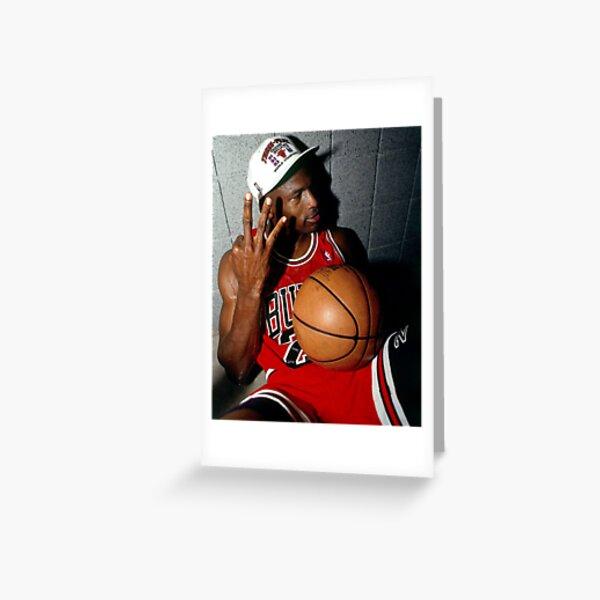 Michael Jordan Tarjetas de felicitación