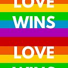 Love Wins - Rainbow by IdeasForArtists