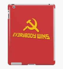 Everybody wins iPad Case/Skin