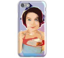 La Fille aux Fraises iPhone Case/Skin