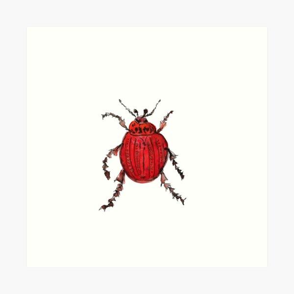 Beetle-mania Art Print