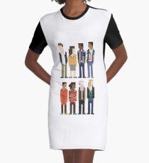 Community Graphic T-Shirt Dress